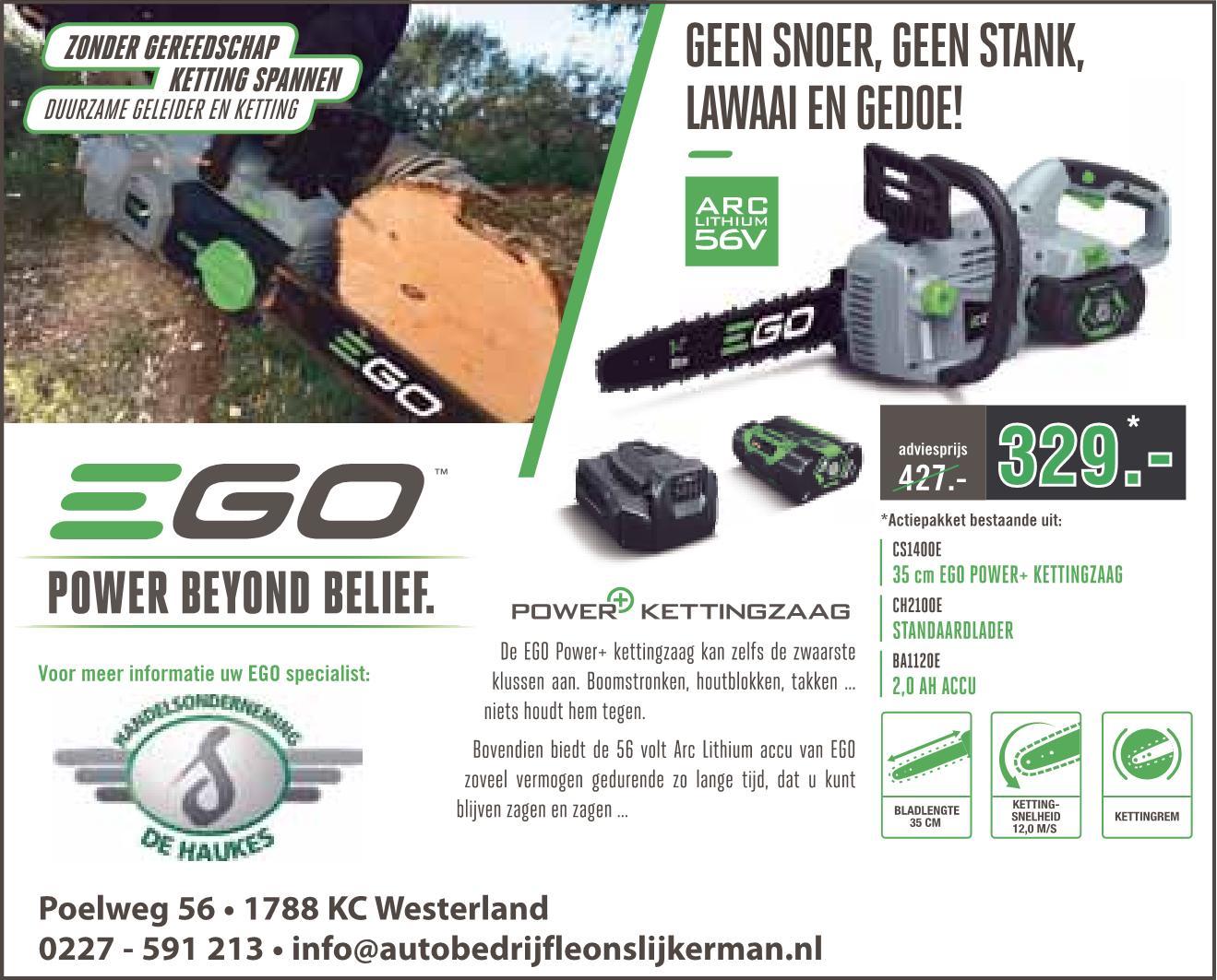 EGO CS1400 promo 2017