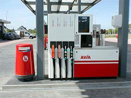 Goedkoop tankstation westerland